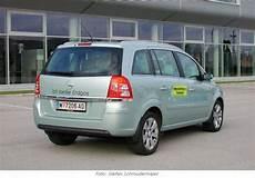Opel Zafira 1 6 Turbo Cng Erdgas Antrieb Im Test