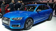 2016 audi s4 announced in frankfurt with new v6 3 0 tfsi engine at 354 ps