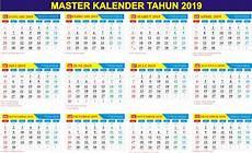 kalender 2019 gratis master kalender tahun 2019 gratis pdf cdr