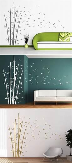 www wandtattoo dekorativer bambus wandtattoo wandgestaltung und haus deko
