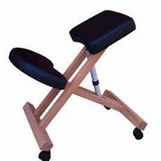 Chaise Bureau Ergonomique Kneeling Si 232 Ge Ergonomique G3k Noir Roulettes Tabouret