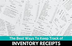 best ways to keep track of inventory receipts for taxes the selling family