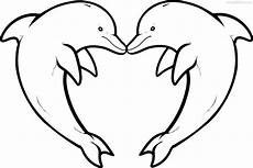 dolphin coloring pages and print for free