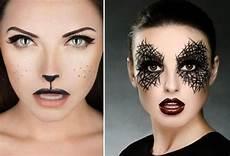 Ideen Make Up - fasching schminken ideen katze augen make up