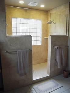 Travertine Walk In Shower