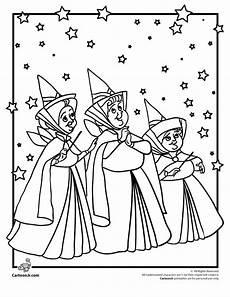 sleeping fairies coloring pages 16601 disney s sleeping godmothers woo jr activities