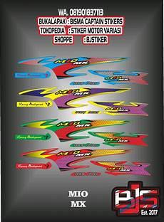 Variasi Mio Sporty by Jual Stiker Motor Striping Motor Variasi Mio Sporty Atau