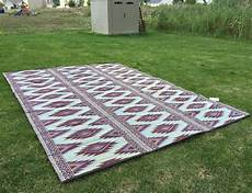 Outdoor Mats by Outdoor Patio Rug 9x12 Rv Cing Picnic Mat Reversible
