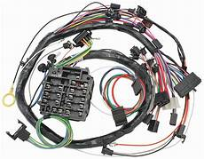 1977 el camino fuse box m h 1969 chevelle dash instrument panel harness w warning lights a c opgi