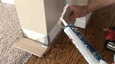 How To Remove And Replace Damaged Baseboards