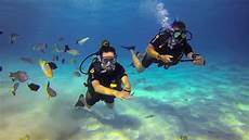 scuba diving in bora bora and tahiti youtube