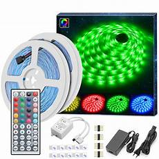 16 79 Minger Led Strip Lichtband 10m Rgb Smd 5050 Led