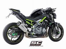 sc project exhaust kawasaki z900 sc1 r silencer 2017