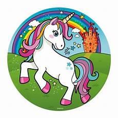 Malvorlagen Unicorn Cake Sugar Sheet Cake Disc Magic Unicorn 16cm 1 Einhorn