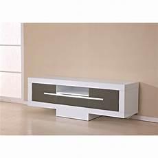 photo meuble bas tv couleur taupe
