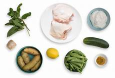 curry spiced chicken thighs with sugar snap peas and