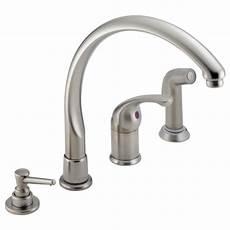 delta single handle kitchen faucet parts delta single lever waterfall kitchen faucet parts besto