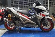 Modifikasi Yamaha Aerox 155 by Modifikasi Yamaha Aerox 155 Otowire
