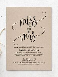 17 printable bridal shower invitations you can diy wedding stationery simple bridal shower
