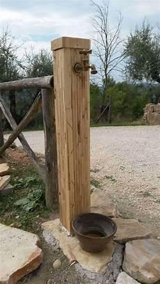wasserzapfstelle garten selber bauen water from recycled pallet wood recyclart
