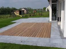 terrasse en bois ou carrelage terrasse bois carrelage melange ga71 montrealeast