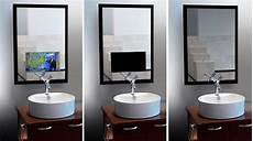 badspiegel mit tv mirror tv for the ultimate vanity cnet