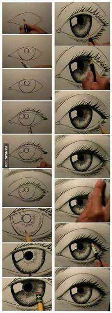Trendy Eye Drawing Tutorial 17 Ideas Drawing