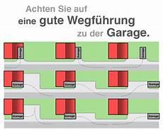 abstand garage zur die richtige anordnung der garage auf dem grundst 252 ck