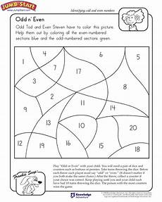 quot odd n even quot 1st grade math worksheet on odd and even