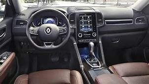 Renault Koleos 2017 Dimensions Boot Space And Interior
