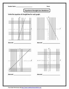 equation of a straight line worksheet worksheet for 9th 12th grade lesson planet