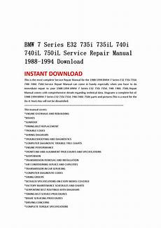 motor auto repair manual 1994 bmw 7 series electronic throttle control bmw 7 series e32 735i 735il 740i 740il 750il service repair manual 1988 1994 download by msjenfh