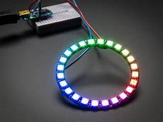 led ring neopixel ring 24 x 5050 rgb led with integrated drivers