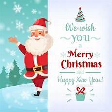 merry christmas card santa claus greeting cards by tartila graphicriver