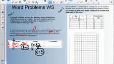 direct variation word problem worksheets 11167 7th 5 6 direct variation pt2 word problem worksheet