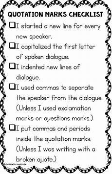 dialogue punctuation worksheet 4th grade 20954 teaching with a mountain view teaching quotation marks and dialogue