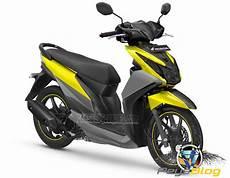 Variasi Warna Motor Beat by Koleksi Variasi Motor Warna Kuning Modifikasi Yamah Nmax