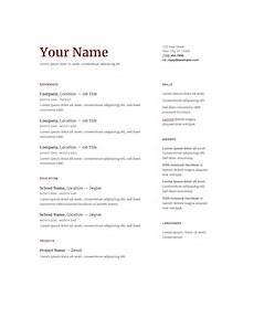 docs resume templates how to guide resume genius