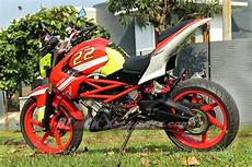 Modifikasi Motor Cs1 by Modifikasi Motor Honda Cs1 Adopsi Kaki Kaki Yamaha Byson