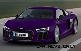 2016 Audi R8  Digital Colorizer