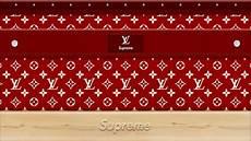 Supreme X Lv Background by Supreme Louis Vuitton Wallpaper Wallpapersafari
