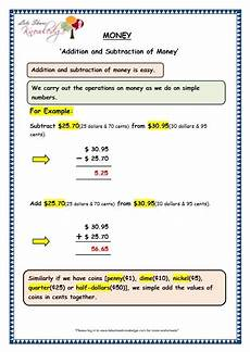 addition and subtraction of money worksheets for grade 3 10558 grade 3 maths worksheets 10 2 addition and subtraction of money lets knowledge