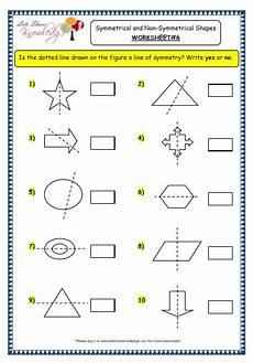 grade 3 maths worksheets 14 4 geometry symmetrical and non symmetrical shapes lets share