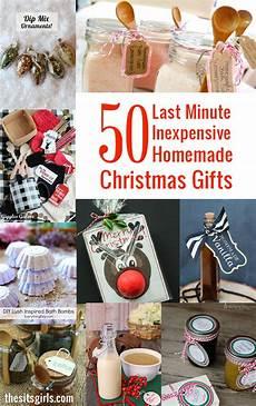 Selbstgemachte Geschenke Weihnachten - 50 last minute inexpensive gifts