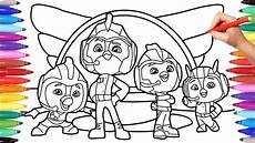 top wing coloring pages for how to color top wing