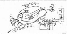 bolton motorcycles vt250f 1983 fuel tank