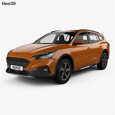 Ford Focus Active Turnier 2018 3d Model Vehicles On Hum3d