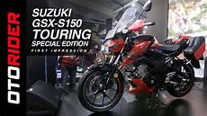 Suzuki Gsx S150 Touring Edition Picture