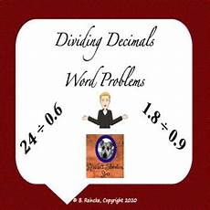 word problems with decimals worksheet 11346 dividing decimals word problems 3 worksheets by reincke s education store