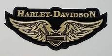 harley davidson patches harley davidson golden wings embroidered patch hd69